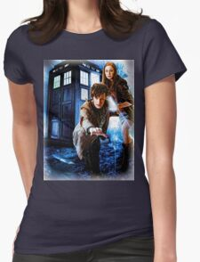 Action figures of Doctor Hoodie / T-Shirt Womens Fitted T-Shirt