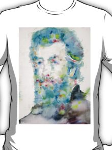 HERMAN MELVILLE - watercolor portrait T-Shirt