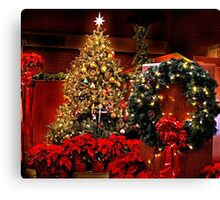 Glittering Decorations Canvas Print