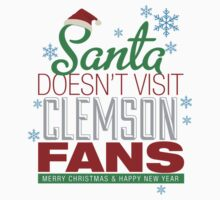Santa Doesen't Visit Clemson Fans by HolidaySwaggC