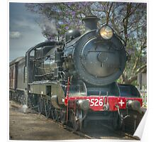 Engine No. 3526, NSW Rail Transport Museum Poster