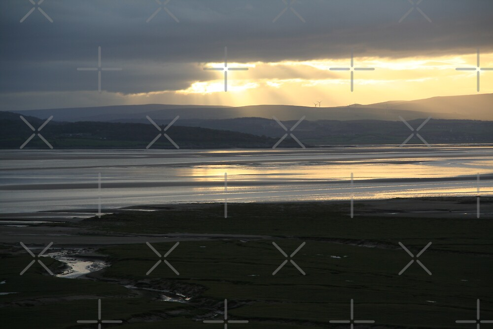 Morecambe Bay from Grange-over-Sands by Louise Green