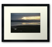 Morecambe Bay from Grange-over-Sands Framed Print