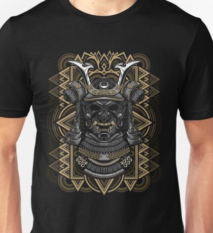 Samurai mask Unisex T-Shirt