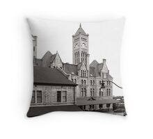 Union Station Nashville Tennessee USA Throw Pillow