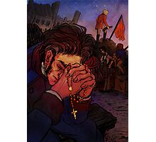 Valjean at the barricade Photographic Print