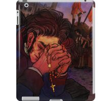 Valjean at the barricade iPad Case/Skin