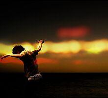Beach Dancer by Peter Beck