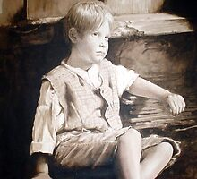 boy in barn by patinthehat
