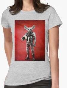 Space is calling Womens Fitted T-Shirt