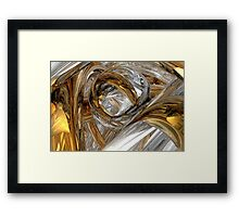 Dreams Of Silver And Gold Framed Print
