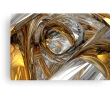 Dreams Of Silver And Gold Canvas Print
