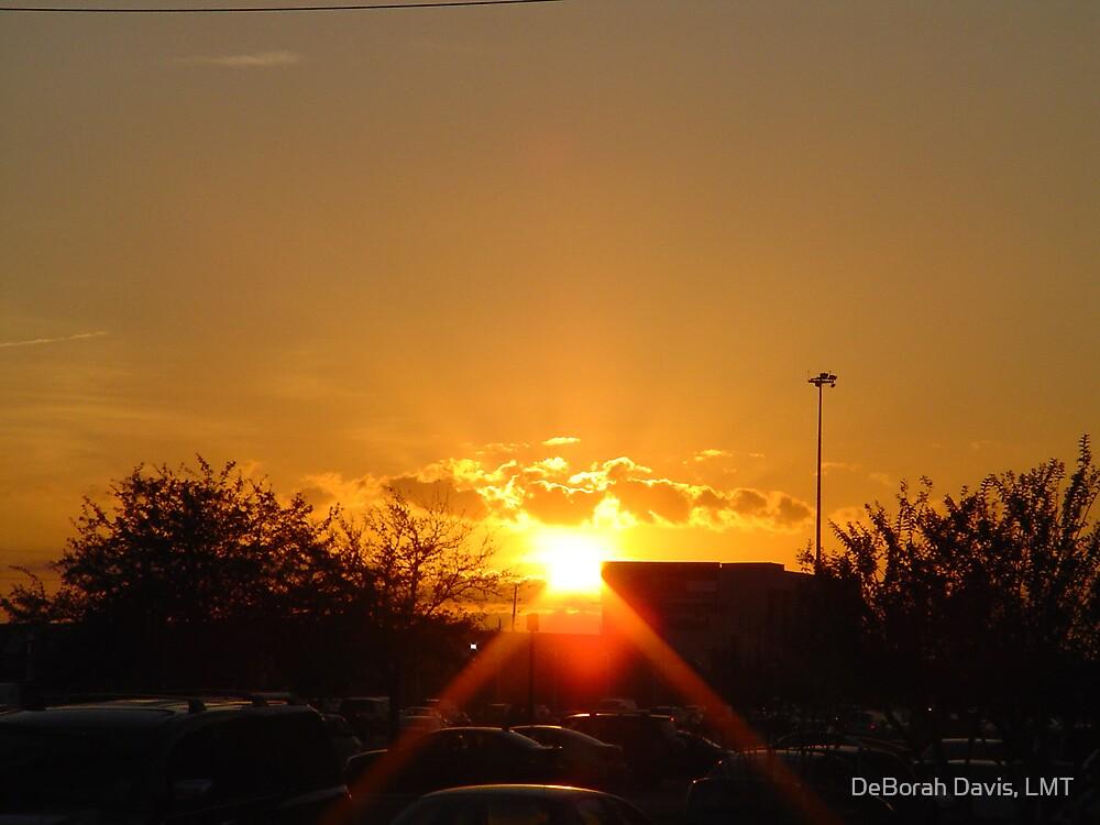 Sunset over Houston by DeBorah Davis, LMT
