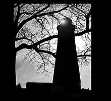Lighthouse Silloutte by hammye01