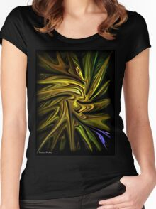 Goldenrod Women's Fitted Scoop T-Shirt