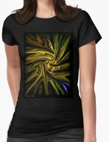 Goldenrod Womens Fitted T-Shirt