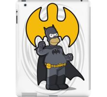 bat-homer: the Simpsons superheroes iPad Case/Skin