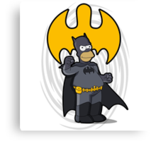 bat-homer: the Simpsons superheroes Canvas Print