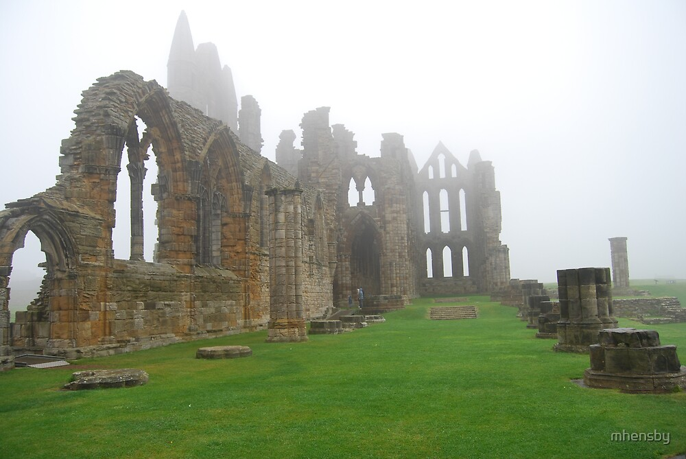 Whitby Abbey by mhensby
