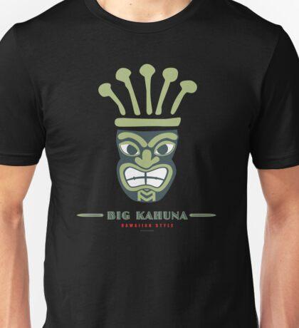 Big Kahuna Hawaiian Style Tiki Unisex T-Shirt