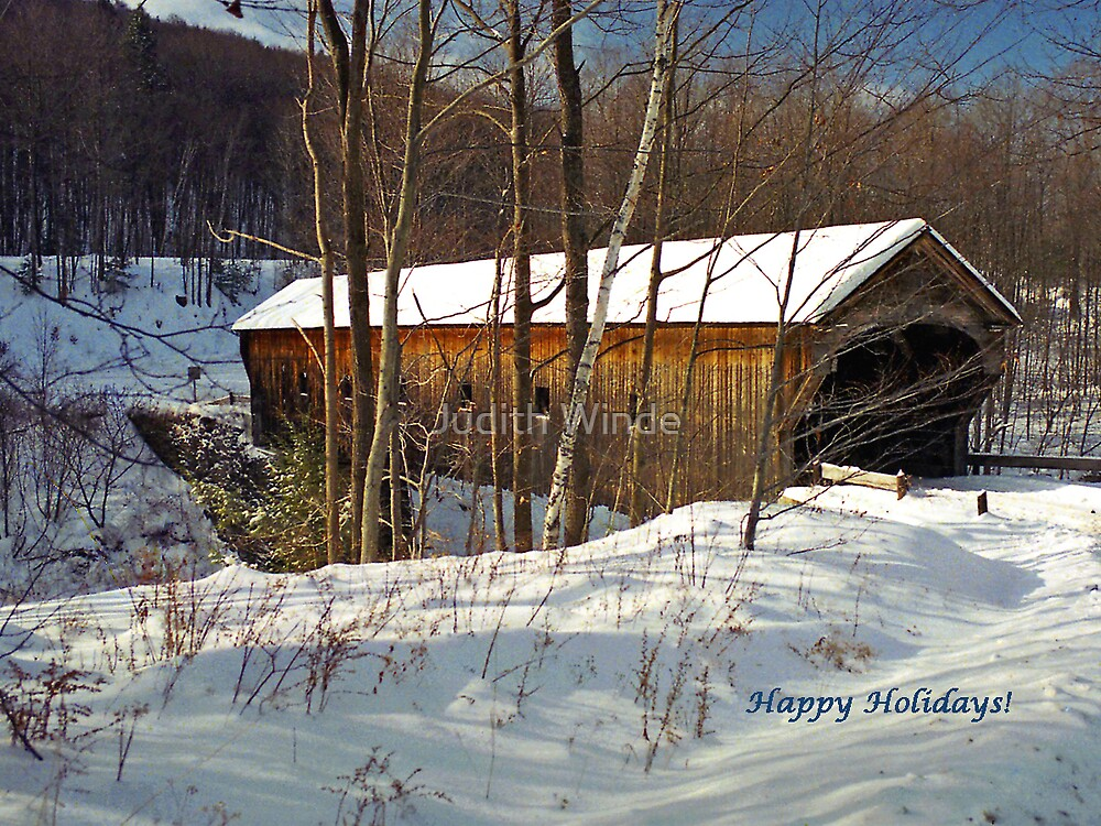 Happy Holidays by Judith Winde