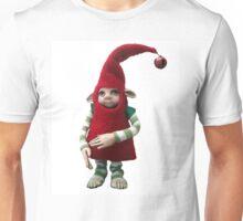 Happy Holiday Helper - Xmas Elf  Unisex T-Shirt