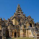 Myanmar. Ava. Maha Aung Mye Bon Zan Monastery. by vadim19