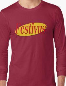 festivus (red) Long Sleeve T-Shirt