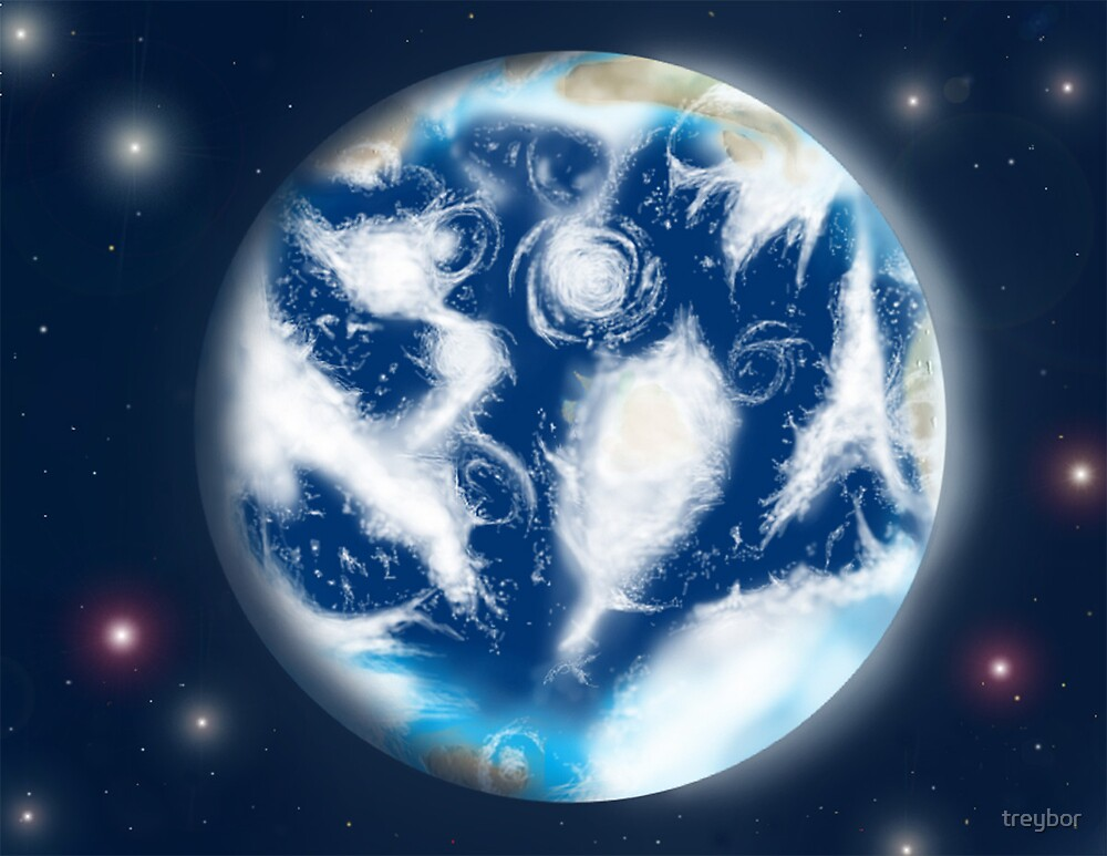Earth illustration by treybor