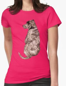 Mans Best Friend Womens Fitted T-Shirt