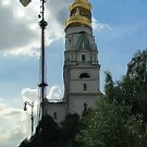 The Church of St. Ioann Lestvichnik and the Ivan the Great Bell Tower by Jon Ayres