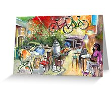 The Goodaboom Girl In A Ruin Bar In Budapest Greeting Card