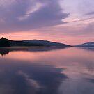 Symmetrical Sunrise, Loch Rannoch by Tim Haynes