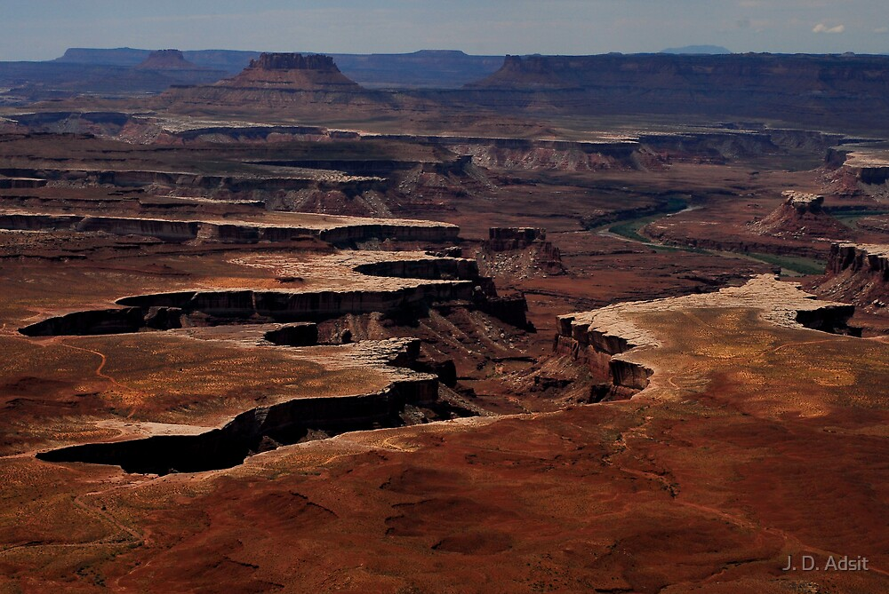 Canyonlands Moonscape by J. D. Adsit