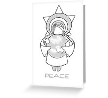 Peace A Christmas Wish Greeting Card