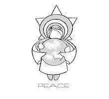 Peace A Christmas Wish Photographic Print