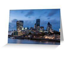 The changing face of the City Greeting Card