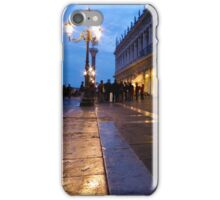Night Falls on Piazza San Marco iPhone Case/Skin