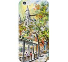 Starbucks Cafe In Budapest iPhone Case/Skin