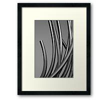 Stainless Framed Print