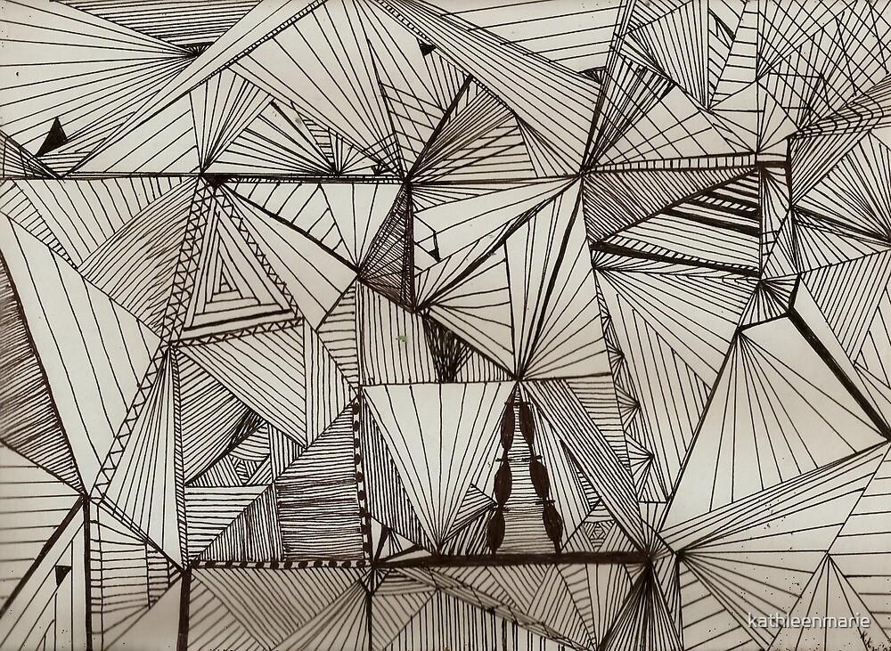 Black Cubism by kathleenmarie