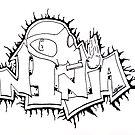 Ninja Piece - Gas Mask by Bryan Davidson