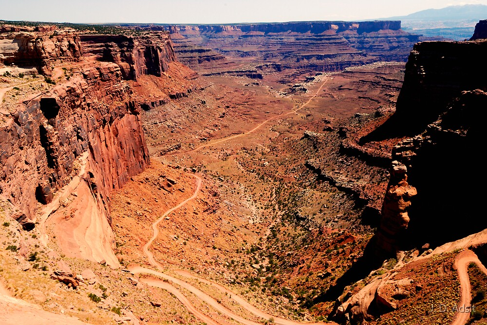 Canyonlands The Bowl by J. D. Adsit