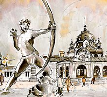The Archer From Budapest by Goodaboom