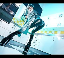 Latex villain in the kitchen by Guldor