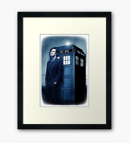 doctor smith tee Tardis Hoodie / T-shirt Framed Print