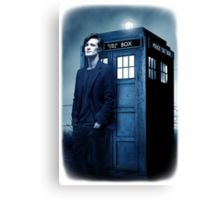 doctor smith tee Tardis Hoodie / T-shirt Canvas Print