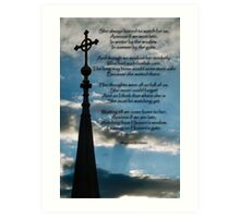 In Remembrance of a Departed Mother Art Print