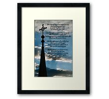 In Remembrance of a Departed Mother Framed Print