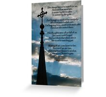 In Remembrance of a Departed Mother Greeting Card